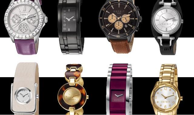 Nowa kolekcja zegarków Esprit