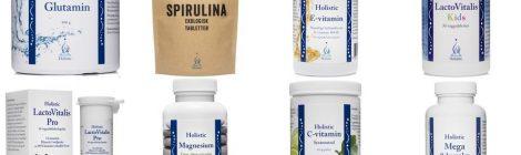 Ekologiczne suplementy diety od Holistic