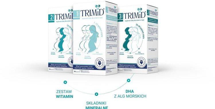 Suplementy diety dla kobiet w ciąży od TRIMiD
