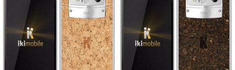 Ekologiczny telefon z korka od Iki Mobile